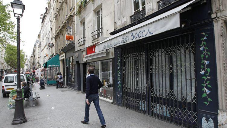 Le restaurant La Bocca, dans le 2e arrondissement de Paris, est fermé administrativement, comme le Baci et l'Escargot. (LE PARISIEN / MAXPPP)