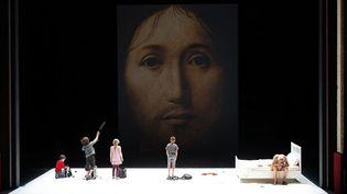 Une scène de la pièce  (Christophe Raynaud de Lage)