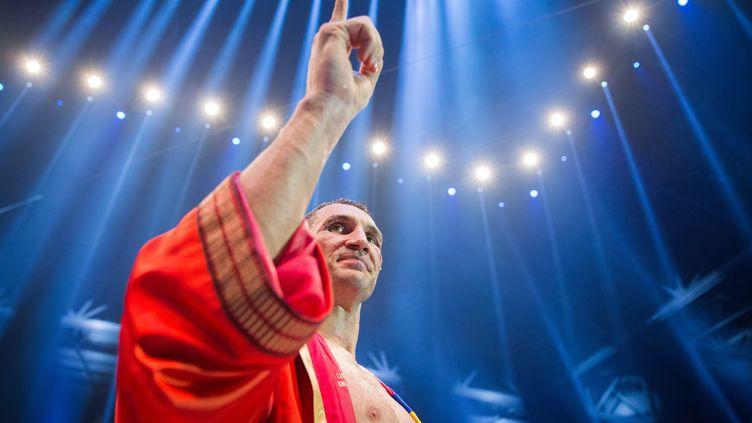 Le boxeur ukrainien Vladimir Klitschko (ROLF VENNENBERND / DPA)