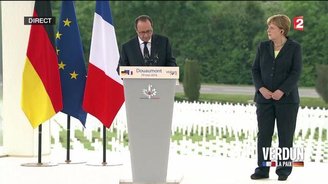 Hollande à Verdun