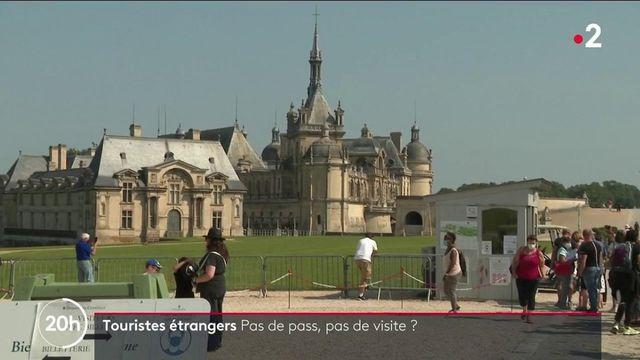 les visiteurs étrangers sont-il privés de visite s'ils n'ont pas leur pass sanitaire ?