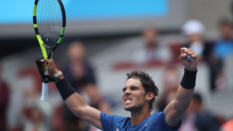 Nadal à Pékin (LINTAO ZHANG / GETTY IMAGES ASIAPAC)