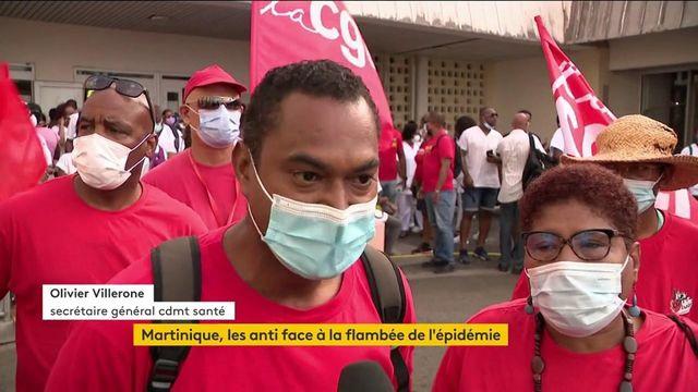 Covid-19 : La Martinique fait face à une forte recrudescence de l'épidémie, la colère fait rage chez les habitants