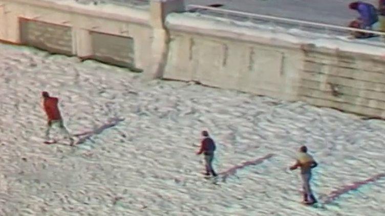 Climat : à l'hiver 1985, Nice sous la neige (France 2)