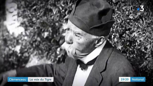 """Clémenceau : une archive inédite sur le """"Tigre"""""""