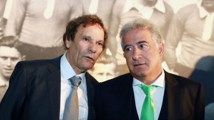 Roland Romeyer (à gauche) et Bernard Caïazzo, les deux co-présidents de l'AS Saint-Etienne.