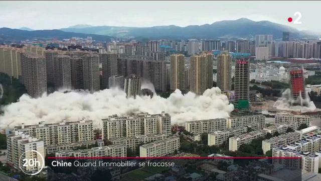 Chine : un pays où l'immobilier se fracasse