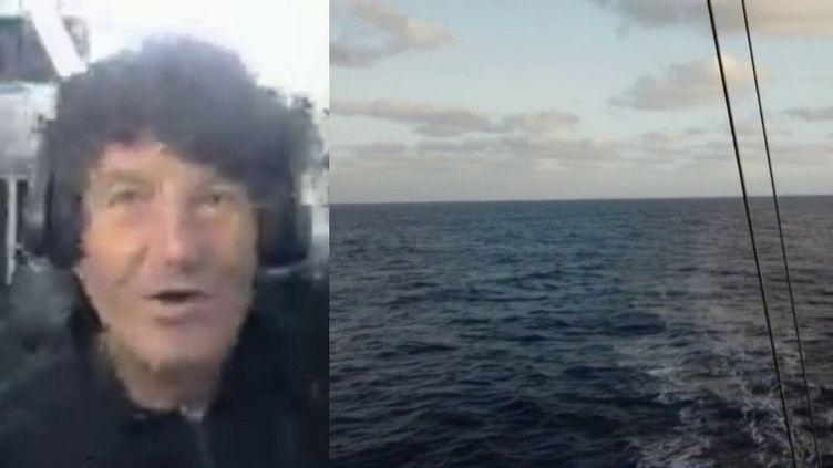 """Voile : """"Ça a été un Vendée Globe très difficile"""", déclare Jean Le Cam au 13 heures (France 2)"""