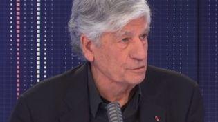 Maurice Lévy, président du conseil de surveillance de Publicis, mercredi 17 février 2021 sur franceinfo. (FRANCEINFO / RADIOFRANCE)