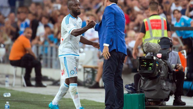 Diarra a été laissé au repos par son coach (BERTRAND LANGLOIS / AFP)
