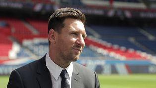 Football : Lionel Messi se confie sur son arrivée au Paris Saint-Germain. (FRANCEINFO)