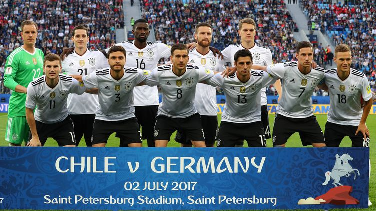 la sélection allemande lors de la Coupe des Confédérations
