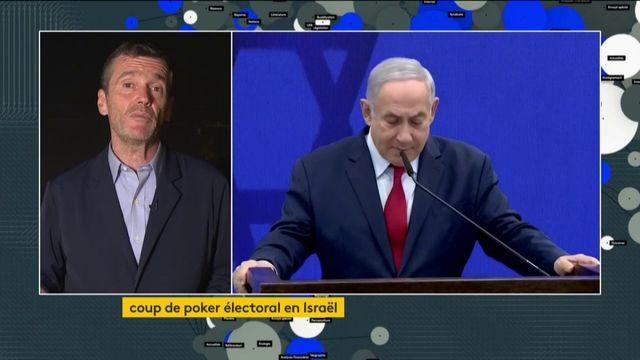 Israël : coup de poker électoral pour Benyamin Netanyahu