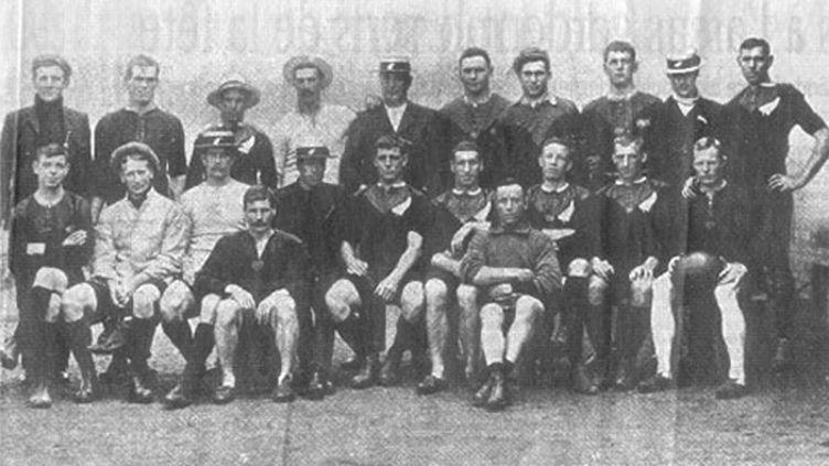 Les All Blacks de 1905