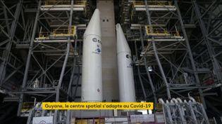 Le pas de tir d'Ariane 6 en chantier au centre spatial de Kourou, en Guyane (FRANCEINFO)