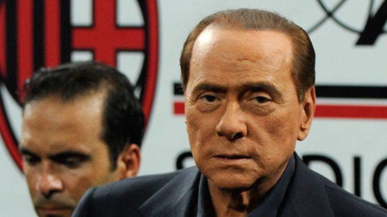 Le dirigeant italien Silvio Berlusconi