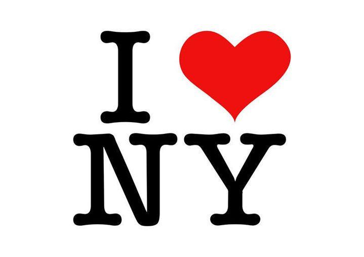 """Le logo """"I Love NY"""" imaginé par le graphiste américain Milton Glaser en 1977. (MILTON GLASER)"""