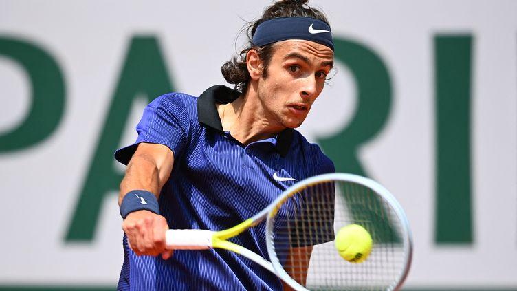 Lorenzo Musetti lors de Roland-Garros 2021. (CHRISTOPHE ARCHAMBAULT / AFP)