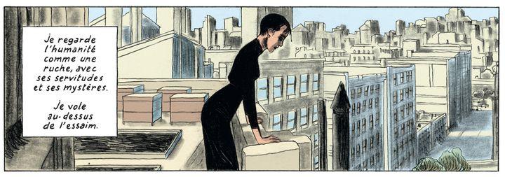 """""""Gramercy Park"""", page 33  (Timothée de Fombelle et Christian Caillaux / Gallimard Bande desssinée)"""