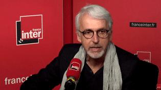 Michel Lussault, président du Conseil supérieur des programmes (CSP), le 26 septembre 2017. (France Inter)