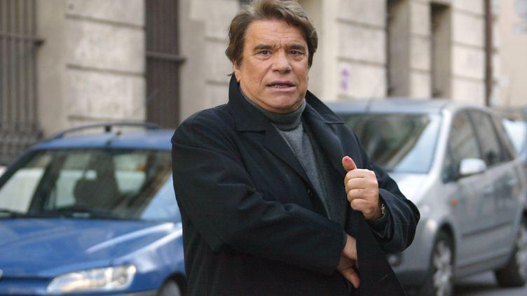Bernard Tapie, le 15 janvier 2008 à Paris. (ANNE-CHRISTINE POUJOULAT / AFP)