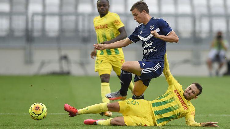 Bordeaux stoppé par Nantes en ouverture de la saison de Ligue 1 (NICOLAS TUCAT / AFP)