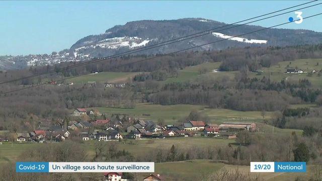 Covid-19 : le village de La Balme-de-Sillingy, en Haute-Savoie, sous haute surveillance