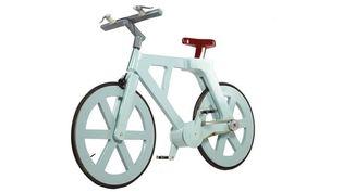 Le vélo en carton de Izhar Gafni.  (Izhar Gafni)