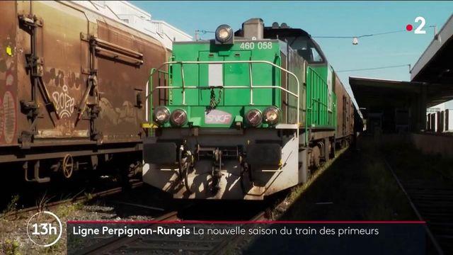 Transports : la ligne de train Perpignan-Rungis reprend du service en octobre