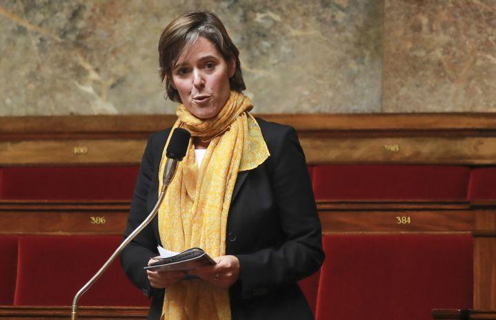 La députée LREM Cendra Motin à l'Assemblée nationale, le 28 juillet 2017. (JACQUES DEMARTHON / AFP)