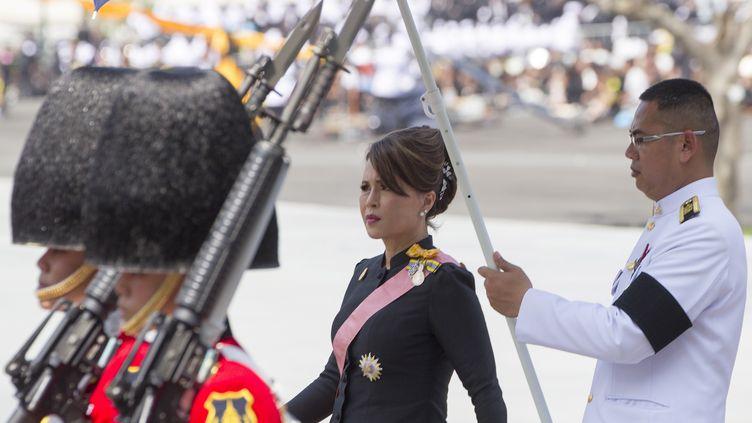 La princesse Ubolratana Rajakanya de Thaïlande, en octobre 2017. (PONGMANAT TASIRI / EPA)