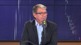 Roger Genet, directeur général de l'Anses, l'Agence nationale de sécurité sanitaire de l'alimentation, de l'environnement et du travail. (FRANCEINFO / RADIOFRANCE)