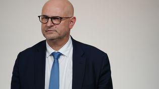 Laurent Pietraszewski, le 19 décembre 2019, à Paris. (MARTIN BUREAU / AFP)