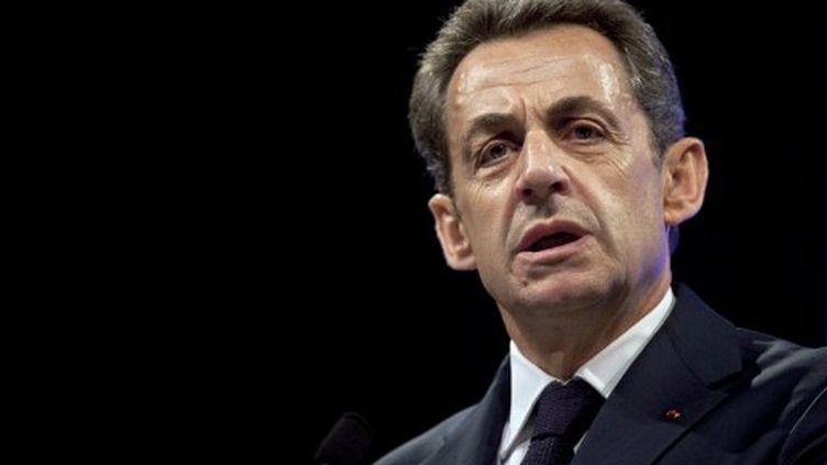 Nicolas Sarkozy (17 avril 2012) (THIBAULT CAMUS / POOL / AFP)