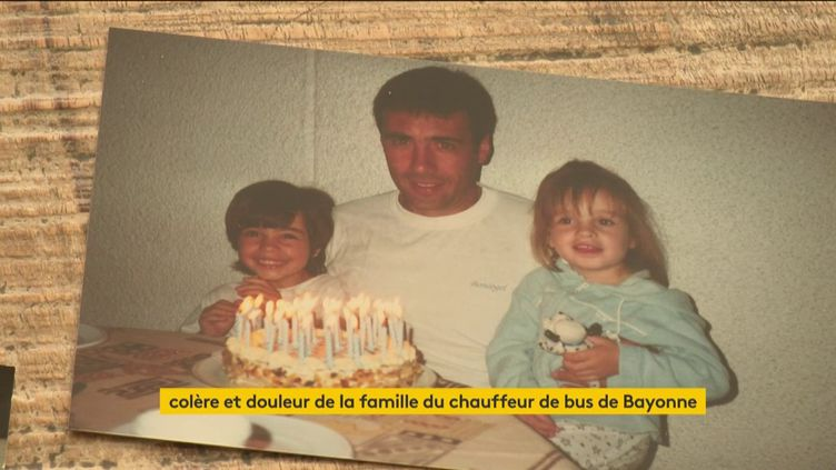 Le chauffeur de bus de Bayonne en état de mort cérébrale et ses enfants (FRANCEINFO)