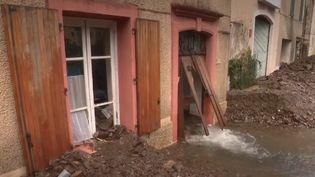 Intempéries : dans le Gard, le village de Valleraugue est ravagé (FRANCEINFO)