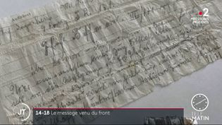 Tombé dans un champ près de Colmar (Haut-Rhin), il a été retrouvé par un promeneur en septembre dernier. (France 2)