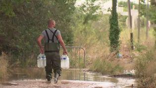 Gard : au lendemain des intempéries, des habitants toujours inondés (France 2)
