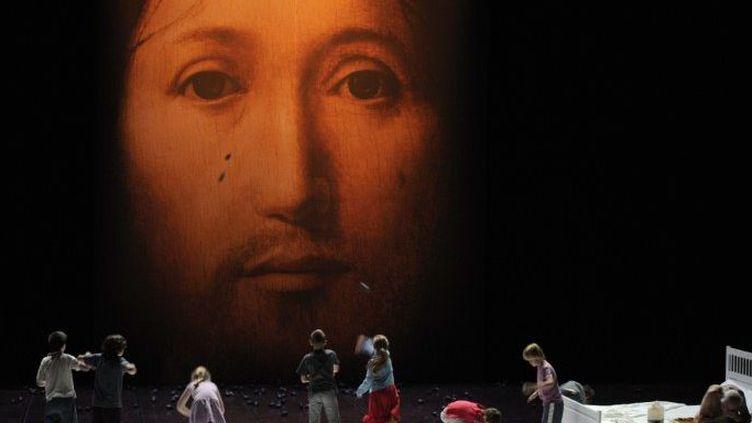 """""""Sur le concept du visage du fils de Dieu"""" au festival d'Avignon  (AFP/ A.C. Poujoulat)"""