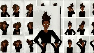 """Extrait de """"Pari(s) d'amies"""" de Rokhaya Diallo (Ed. Delcourt)  (France 3 / Culturebox)"""