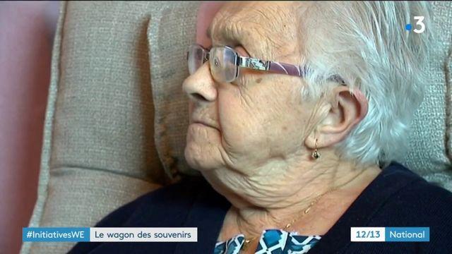 Initiative : le wagon des souvenirs apaise les personnes âgées dépendantes