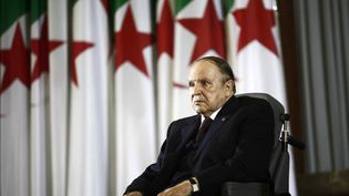 Le président algérien Abdelaziz Bouteflika, le 28 avril 2014 à Alger. (RAMZI BOUDINA / REUTERS)