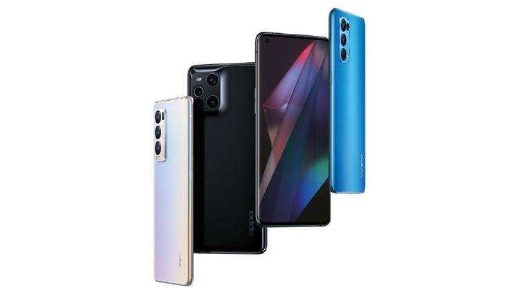 Avec sa nouvelle série Find X3 5G, Oppo entend bien concurrencer Samsung, Apple et Huawei sur le marché du smartphone. (Oppo)