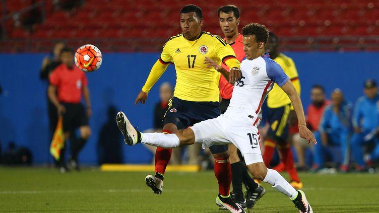 Le Colombien Roger Martinez prend le meilleur sur l'Américain Payne (SARAH CRABILL / GETTY IMAGES NORTH AMERICA)