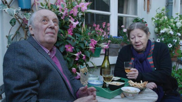 """Dario Argento et Françoise Lebrun dans """"Vortes"""" de Gaspar Noé (2021) (WILD BUNCH)"""