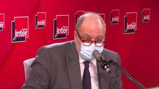 Éric Dupond-Moretti, invité de France Inter mercredi 3 mars. (FRANCE INTER / CAPTURE D'ÉCRAN)