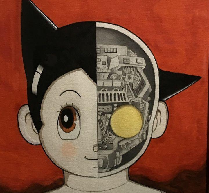 """Astro boy"", exposition Tezuka, Angoulême 2018  (Laurence Houot / Culturebox)"