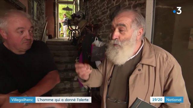 Inondations dans l'Aude : un homme a donné l'alerte à Villegailhenc