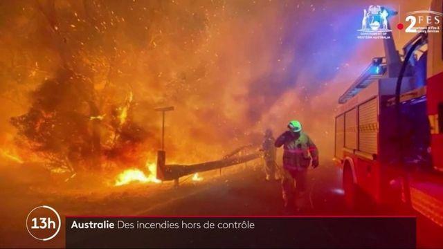 Australie : de gigantesques feux de forêt ravage l'ouest du pays