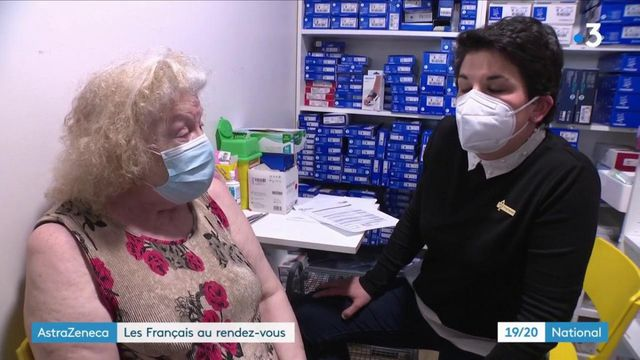 AstraZeneca : les Français reviennent se faire vacciner